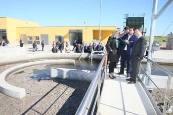 La Junta invertirá 328.000 euros en obras para mejorar la depuradora de Molina de Aragón