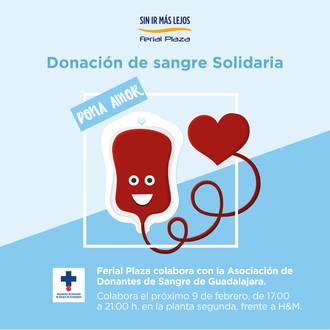 El Ferial Plaza acogerá una campaña de donación de sangre