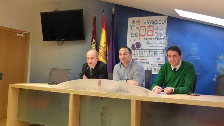 Todo preparado para el gran evento deportivo de la Cuarta edición de la Copa de España de Voleibol de Clubes