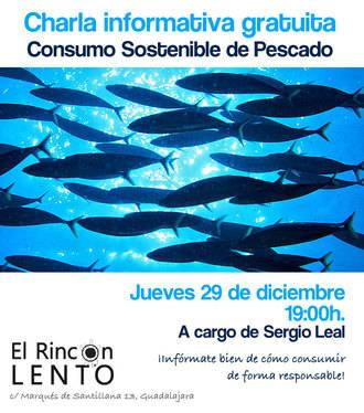 """Charla sobre """"Consumo sostenible de pescado y marisco, el problema de la sobrepesca"""""""