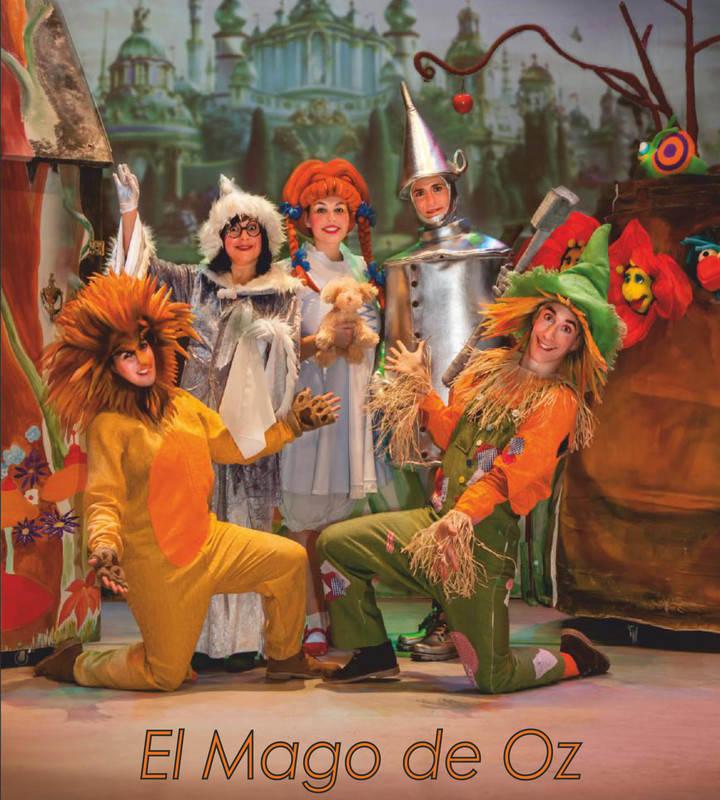 El clásico infantil 'El Mago de Oz', este domingo en el Teatro Moderno
