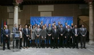 El alcalde de Guadalajara asistió al acto de entrega de la Llave de Oro del Municipalismo a Rita Barberá