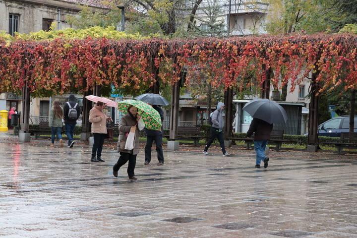 Vuelven las lluvias este domingo en Guadalajara bajando el mercurio a los 11ºC