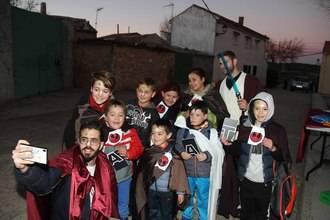 La fuerza acompañó ayer a los niños y niñas de Fuentenovilla