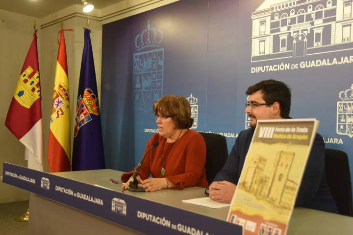 La Diputación de Guadalajara se implica en la VIII Feria de la Trufa en Molina de Aragón
