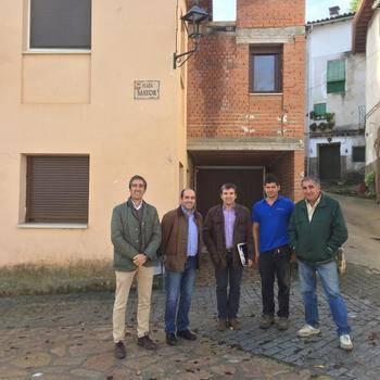 La Diputación lleva a cabo obras de reforma en la casa consistorial de Irueste