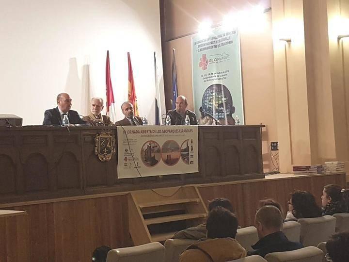 Latre reafirma el apoyo de la Diputación al Geoparque de Molina como fuente de desarrollo rural contra la despoblación