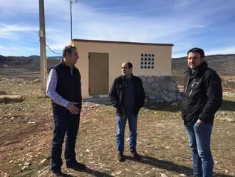 La Diputación lleva a cabo importantes obras de renovación de redes en varios pueblos de la zona de Molina