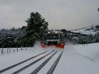 Todo listo para activar el Plan de Vialidad Invernal de la Diputación para garantizar la seguridad