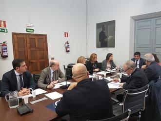 Latre participa en la reunión de la Subcomisión de Diputaciones de la FEMP