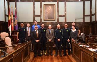 Tres nuevos bomberos se incorporan al Consorcio de Prevención y Extinción de Incendios de Diputación