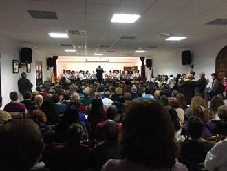 Más de 300 personas disfrutaron en Yebra del concierto en honor a Santa Cecilia