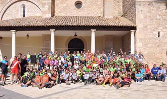 Gran éxito de participación de la II Ruta de Mountain Bike de Yebra