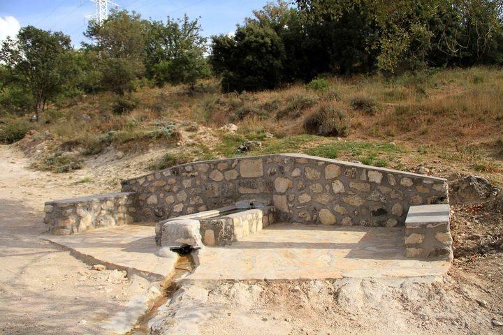 Fuentenovilla realza tres de sus más emblemáticas fuentes