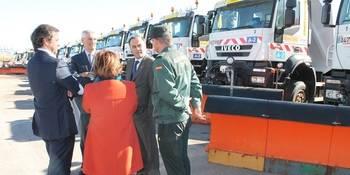 Guadalajara cuenta con 31 quitanieves para que sus carreteras hagan frente al invierno