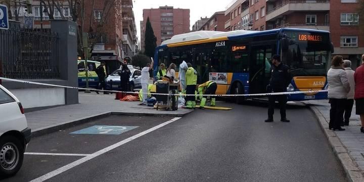 Grave atropello de un autobús urbano a una anciana en pleno centro de Guadalajara