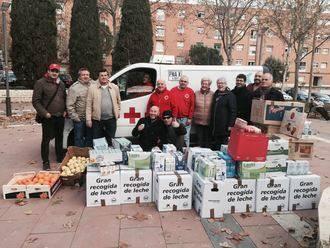 La Asociación Cultural La Isabela logra una tonelada de alimentos para Cruz Roja
