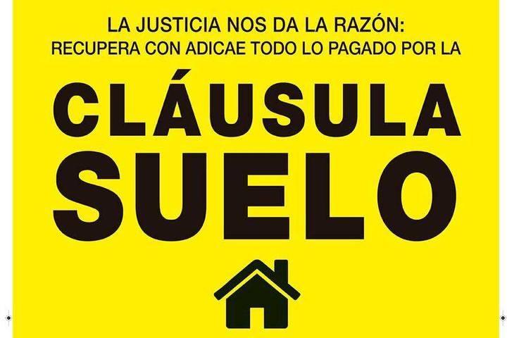 Adicae informa este lunes en Guadalajara sobre cómo reclamar por las cláusulas suelo