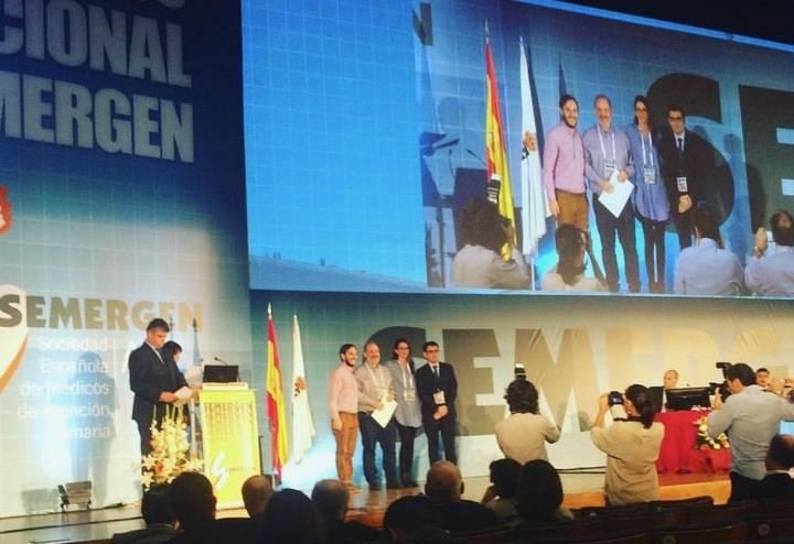 Profesionales del Centro de Salud de Azuqueca reciben el premio al mejor trabajo sobre vacunas presentado en el Congreso Semergen