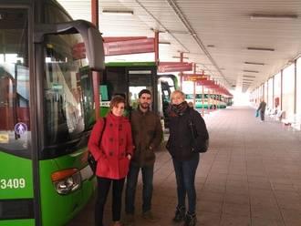 Ahora Guadalajara plantea habilitar una línea de transporte público por la R-2