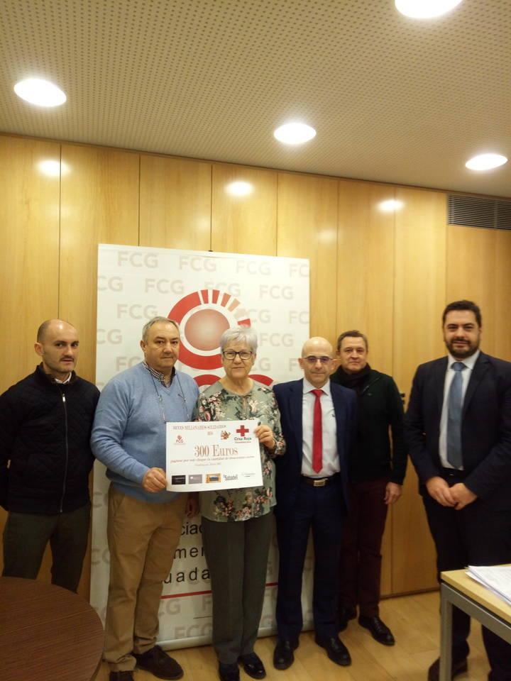 FCG entrega a Cruz Roja 300 euros de los 'Reyes Millonarios Solidarios 2016'