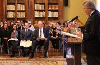 La Biblioteca de Cabanillas del Campo recoge su Premio María Moliner