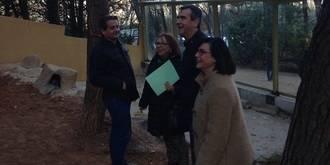 El Zoo de Guadalajara mejora su aspecto gracias a dos talleres de empleo