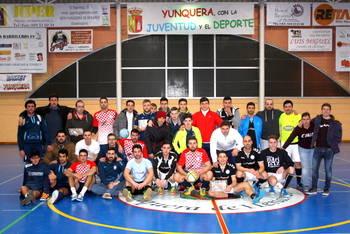 Los Barrileros FS ganan en Yunquera su propio torneo de Navidad