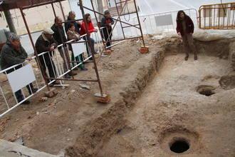Jornada de puertas abiertas en la excavación arqueológica de la Plaza de la Iglesia de Almonacid