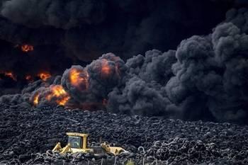 Tras 8 meses, 6 millones, la retirada de 10.000 toneladas de neumáticos sin quemar y de 20.000 de cenizas, Seseña dejar de ser un peligro