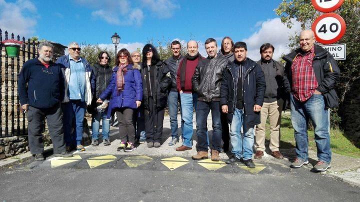 IU de Guadalajara celebró un encuentro sobre política municipal en Zarzuela de Jadraque