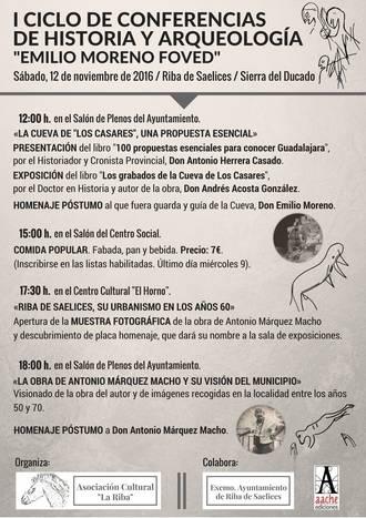 Cita cultural en Riba de Saelices a través de varias presentaciones y una exposición fotográfica