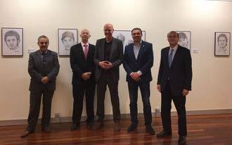 Abierta la exposición de Óscar Escalera en la Sala de Arte de Diputación
