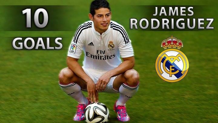 """James sobre su situación en el Real Madrid : """"Esto es una mierda"""""""