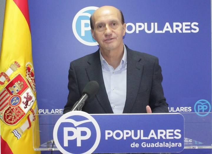 """Juan Pablo Sánchez: """"Por culpa de Page el estado de la Sanidad en Guadalajara es cada vez más preocupante"""""""