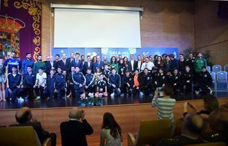 Gran Gala del Deporte de la Diputación para reconocer la trayectoria de deportistas, equipos e instituciones en 2016