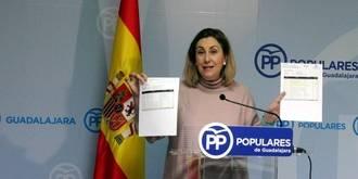 """Silvia Valmaña asegura que los """"planes"""" presupuestarios de Page son """"un castigo y una estafa"""" para Guadalajara"""