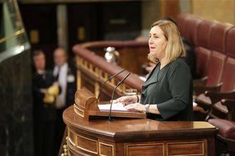La alcarreña Valmaña defiende en el Congreso las políticas de conciliación y corresponsabilidad
