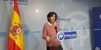 """Ana González: """"Page se va de fiesta a Madrid sin hacer sus deberes ni cumplir sus compromisos con Guadalajara"""""""