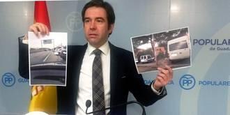"""Robisco: """"No hay 600 plazas de aparcamiento gratuitas en el Hospital de Guadalajara. Ni la mitad"""""""
