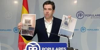 Robisco denuncia la existencia de casi un centenar de camas rotas acopiadas en los pasillos del Hospital de Guadalajara