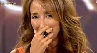 Carlota Corredera se emociona tras el fallecimiento del padre de María Patiño por un cáncer de colon