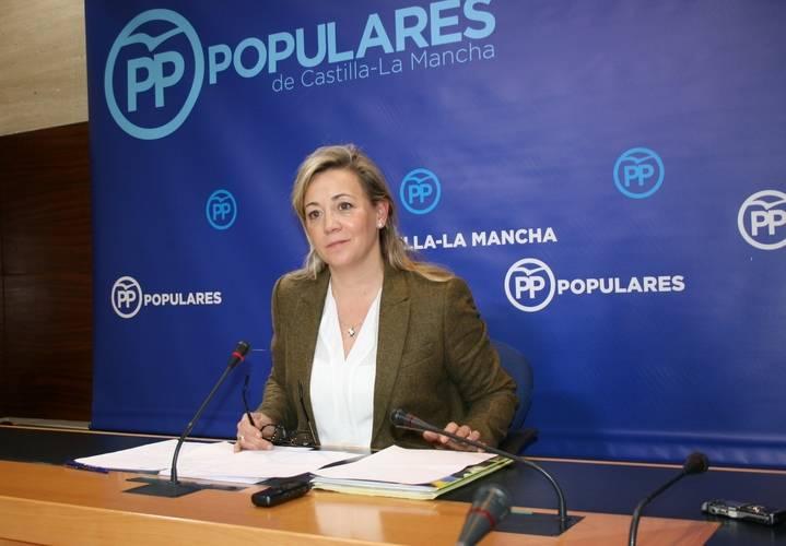 """Merino denuncia """"miedo y pánico"""" de Page tras conocer que Cospedal se presenta a la reelección para presidir el PP regional"""