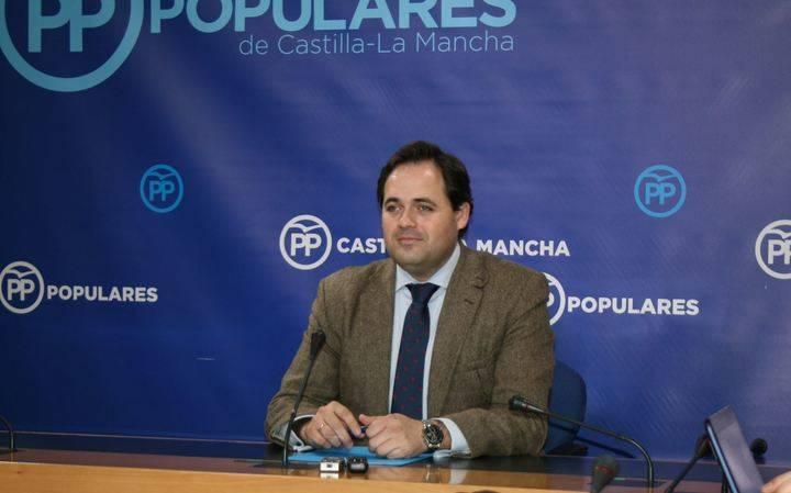 """Núñez: """"Page prohíbe hablar de Sanidad y Agricultura en las Cortes porque estos sectores se manifestarán contra él durante el Pleno"""""""