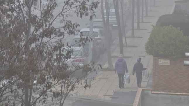 Densos bancos de niebla por la mañana y sol durante el día este jueves en Guadalajara