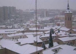 Guadalajara, este martes, en alerta por nieve