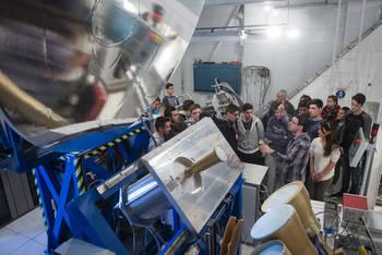 El Aula de Astronomía de Yebes batió en noviembre el registro de visitas en un mes con 831 personas