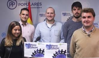 """NNGG Guadalajara inicia una nueva edición de la campaña """"Populares Solidarios"""""""