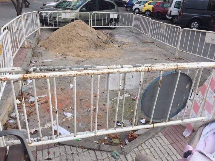"""""""Enfado general"""" en Azuqueca por cómo van las obras en la avenida de Guadalajara"""