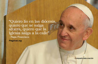 El papa Francisco denuncia